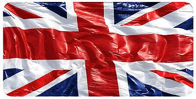 British Flag Custom License Plate Auto Tag Truck