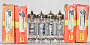 EL84 TELAM 6BQ5 E84l NOS NIB TUBES, MATCHED QUAD, TESTED STRONG - <span itemprop=availableAtOrFrom>Warszawa, MAZOWIECKIE, Polska</span> - EL84 TELAM 6BQ5 E84l NOS NIB TUBES, MATCHED QUAD, TESTED STRONG - Warszawa, MAZOWIECKIE, Polska