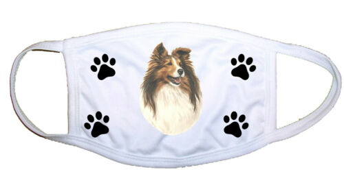Shetland Sheepdog/Sheltie Cloth Mask LP 28014 M