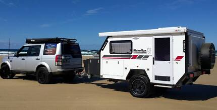 Hire our Rhinomax Off Road Hybrid Campers for your next adventure
