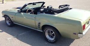 1969 Ford Mustang Convertible Resto-mod
