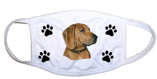 Redbone Coonhound Cloth Mask LP 28190 M
