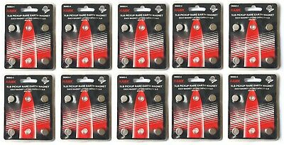 Set Of 40 Neodymium Rare Earth 5lbs Pickup Magnets Hawk M8863-4 - Us Shipping