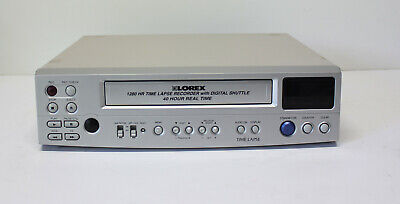 Lorex Sg7940 1280 Hr Time Lapse Recorder Video Cassette Recorder Fully Tested