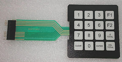 Gilbarco M00147a001 Encore S Keypad Manager Panel Black Connector