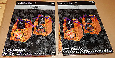 Halloween Treat Boxes Food Crafting 12 Sets 3