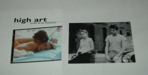HIGH ART FRENCH PROMO MOVIE PRESSBOOK with 1 PHOTO LISA CHOLODENKO FILM
