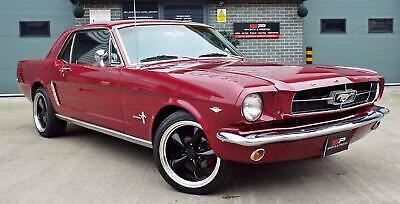 1965 Ford Mustang Coupe 4.7 V8 289 Auto - Vintage Burgundy - Great Example