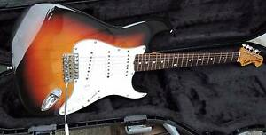 Fender Squier MIJ 'JV' ST50 Stratocaster with Flite case Burwood Whitehorse Area Preview