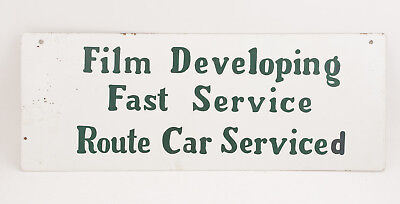 Пленка Film Developing Sign Double Sided(F1R)Fast