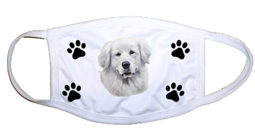 Great Pyrenees Cloth Mask LP 28146 M