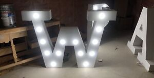 GLOWING LETTERS FOR SALE
