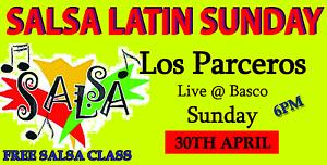 SALSA LATIN SUNDAY featuring Latin Band 'Los Parceros' Brunswick Moreland Area Preview