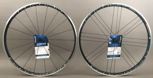 Campagnolo Khamsin Rim Brake Road Bike Black Wheelset 10-12 Speed Quick Release