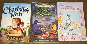 Novels- Charlotte's Web,  Wind in the Willows, Dr. Dolittle