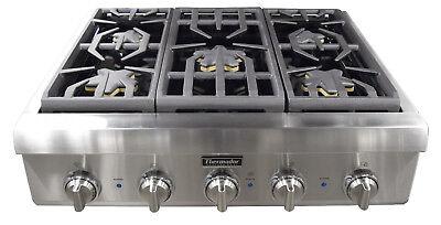 "Thermador Professional Series PCG305P 30"" Professional Series Gas Rangetop"
