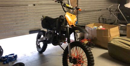 2013 klx yx160cc dirt bike Kenmore Hills Brisbane North West Preview