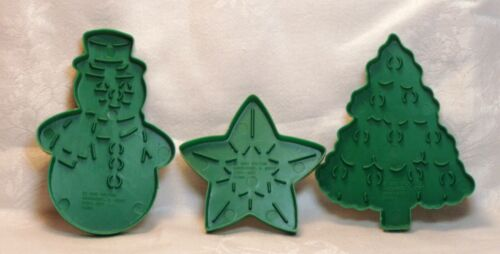 Wilton Christmas Petite Cookie Cutter Set - Tree Star and Snowman