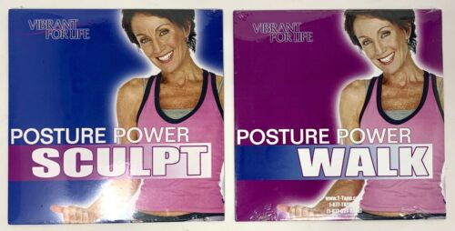 Set of 2 T-Tapp Workout DVDs: Posture Power Walk and Posture Power Sculpt