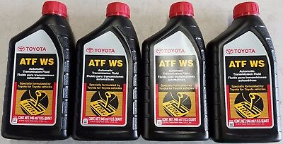 4 Quarts Toyota / Scion Automatic Transmission Fluid ATF World Standard OEM NEW!