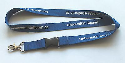Universität Siegen Uni Schlüsselband Lanyard NEU (T172)