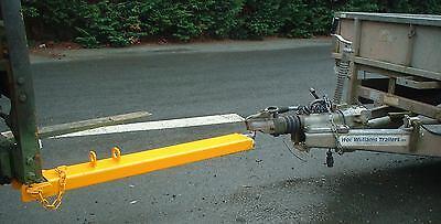 Forklift Tow Ball Attachment - 1200mm Long (110x50mm) Fork £75 + VAT