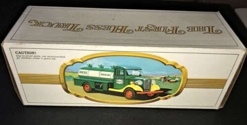 ORIGINAL - 1980 The First Hess Truck Toy Gas Tanker - NEW IN BOX