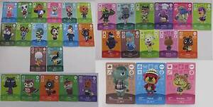 Animal Crossing New leaf Amiibo cards Series 1, 2, 3 & 4 Cheltenham Kingston Area Preview