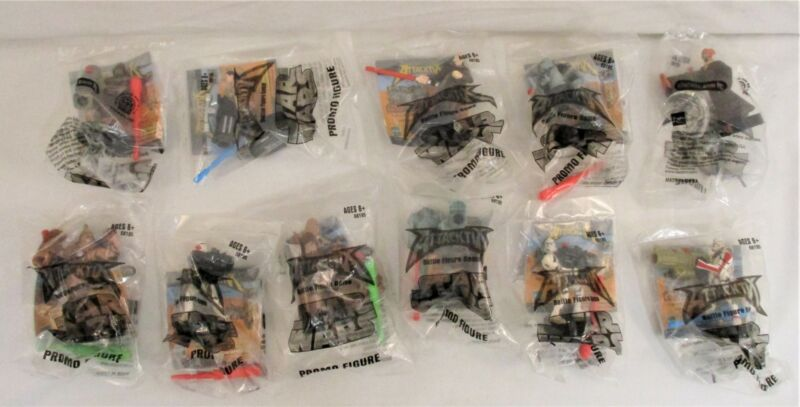 Lot Of 11 Star Wars Attacktix Battle Game Action Figures Promo Sealed NEW Hasbro