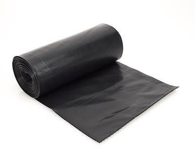200 x Good Black Refuse Sacks Bin Bags 160g Industrial Business Household Waste