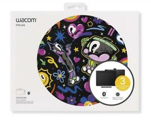 NEW Wacom Intuos Wireless Graphic Tablet with 3 Bonus Software Included, 10.4 x 7.8, Black (CTL6100WLK0) Condtion: ...