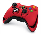 Xbox 360 Limited Edition Red Controller