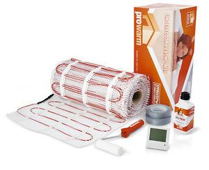 Trame chauffage au sol electrique prowarm kit 200w par m diff rentes tailles - Chauffage electrique au sol consommation ...