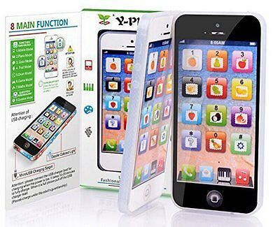 Baby Kids Simulator Music Phone Touch Screen Y-Phone Educational Learning Toy US