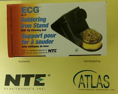 Ja-10 Ecg Solder Iron Stand With Brass Wire Cleaning Ball Heat Resistant