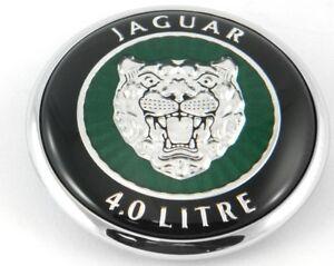 Jaguar XK8 Hood Bonnet Badge Emblem 4 Liter 1997-2002  HJE5900AA