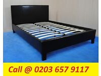 Shah Double , King Size and Single LEATHER BED WITH MATTRESS COLOR OPTION AVAILABLE