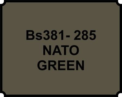 lassic Vintage Paint BS381-285 NATO GREEN Gloss (Green Body Paint Spray)