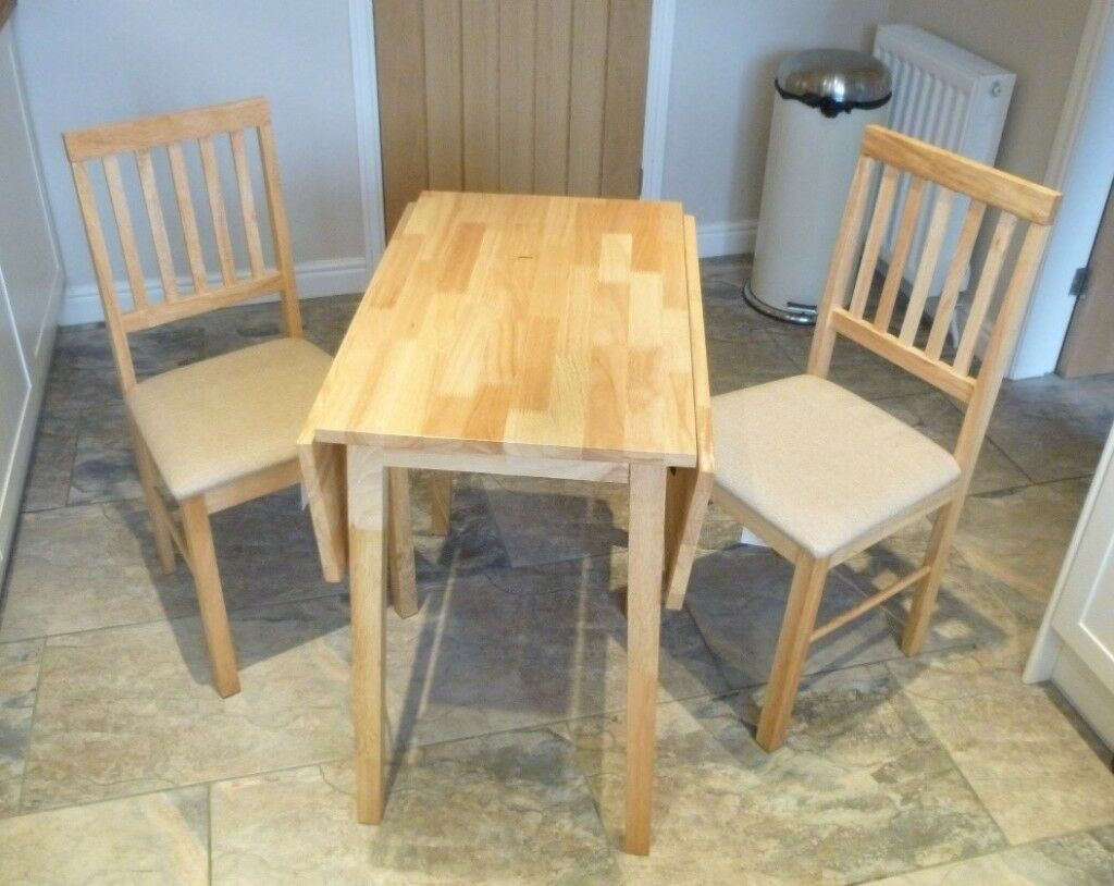 Argos Kendall Solid Wood Drop Leaf Dining Table