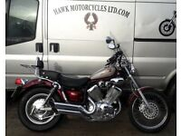 LOVELY 2003 YAMAHA XV535 VIRAGO, ONLY 12092 MILES, AND SCREEN