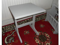 Painted Side Table, Lamp Table