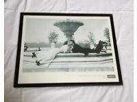 MEET ME AT THE FOUNTAIN 1908 by American Experience FRAMED PICTURE