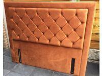 King Size, Floor Standing Luxury Headboard, New / Boxed