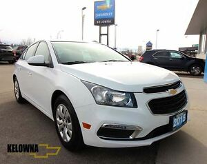 2015 Chevrolet Cruze LT 1LT, Back Up Camera, Bluetooth, My Link