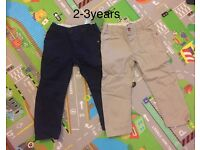 Boys marks and Spencer's trousers2-3years