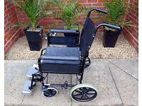 A Lightweight Transit Portable Travel Folding Wheelchair