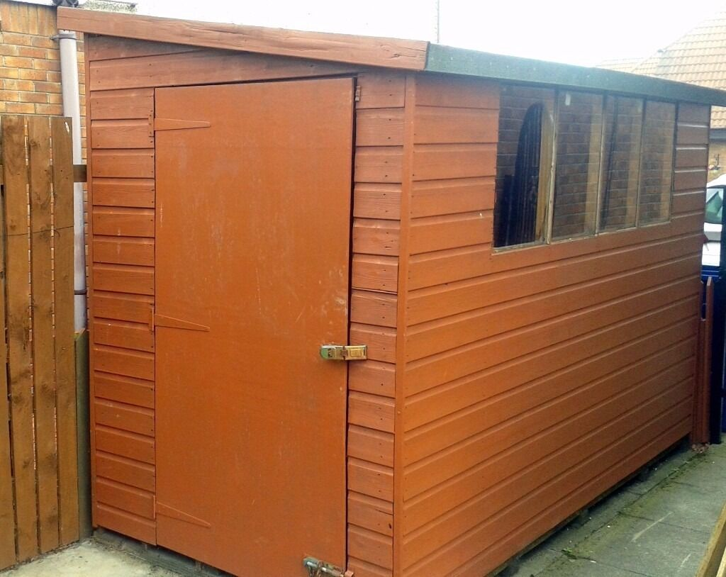 "Garden Sheds 10 X 5 for sale garden shed 10"" x 5"" £100 ono good condition, buyer"