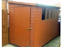 """For Sale Garden Shed 10"""" x 5"""" £100 ono good condition, Buyer dismantles and takes away."""