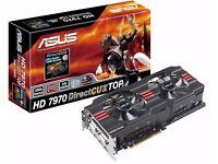 ASUS 7970 3GB Graphics Card
