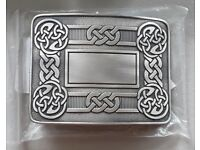 Antiqued Kilt Buckle